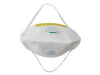 Vitrex Sanding & Loft Insulation Premium Valved Fold Flat Mask FFP1