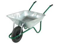 Walsall Boxed 85L Galvanised Easi-Load Builders Wheelbarrow