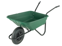 Walsall 90L Green Polypropylene Barrows Min Quantity of 15 Only