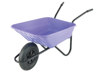Walsall 90L Lilac Polypropylene Barrows Min Quantity of 15 Only