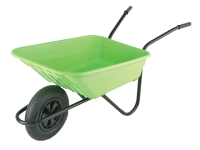 Walsall 90L Lime Polypropylene Barrows Min Quantity of 15 Only