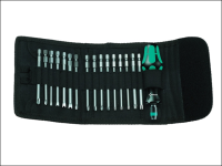 Wera Kompakt 61 Screwdriver Bit Holding General Kit of 17 Pouch