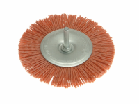 Wolfcraft 1502 Nylon Wheel Brush 100mm