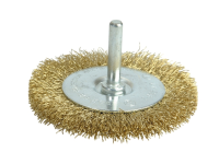 Wolfcraft 2110-000 Brass Wire Wheel 75mm x 6mm