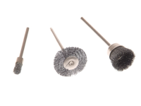Wolfcraft 2114 Set (3) Mini Wire Brushes 10-25mm