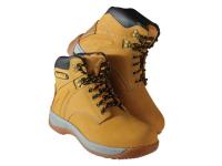 XMS DEWALT Extreme 3 Wheat Safety Boots UK 7 Euro 41