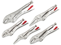 XMS Crescent® Locking Plier Set, 5 Piece