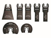 XMS Faithfull Multi-Tool Blade Set, 7 Piece