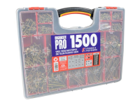 XMS ForgeFix Screw Assortment Case, 1500 Piece