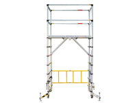 XMS Zarges TT002 Teletower Aluminium Telescopic Scaffold Tower