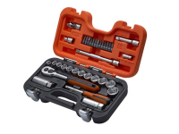 XMS Bahco S330 3/8in Socket Set with 1/4in Bits, 34 Piece