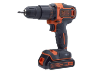 XMS Black & Decker Combi Drill 18V 2 x 1.5Ah Li-ion with 120 Piece Accessory Set