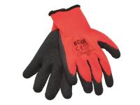 XMS Scan Orange/Black Knitshell Thermal Gloves (Pack 5)