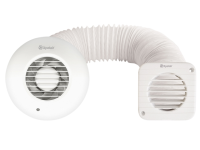 Xpelair Simply Silent Shower Fan Complete 100mm