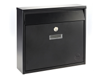Yale Locks Ohio Postbox Black