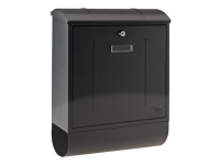 Yale Locks Montana Postbox Black