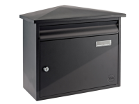 Yale Locks Texas Postbox Black