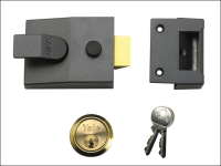 Yale Locks 88 Standard Nightlatch 60mm Backset DMG Finish 60mm Backset Box