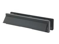 Yale Locks Letter Plate 300mm (12in) Black Visi