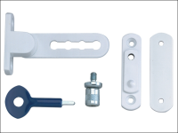 Yale Locks P117 Ventilation Window Lock White Finish Pack of 1