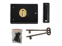 Yale Locks P402 Rim Lock Black Finish 102 x 76mm Visi