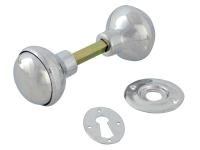 Yale Locks P405 Rim Knob Chrome Finish