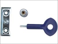Yale Locks P111 Window Staylocks Satin Chrome Finish Pack of 6