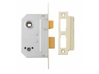 Yale Locks PM236 Bathroom 2 Lever Sashlock 67mm 2.5in Polished Chrome