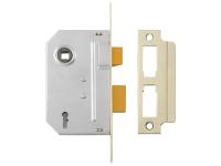 Yale Locks PM246 Internal 2 Lever Mortice Sashlock 67mm 2.5in Polished Chrome