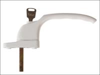 Yale Locks PVCu Window Handle White Finish YWHLCK40N-WH