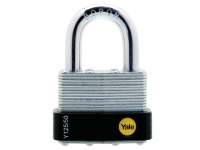 Yale Locks Y125 50mmLaminated Steel Padlock