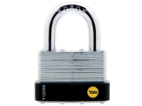 Yale Locks Y125 60mm Laminated Steel Padlock