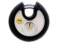 Yale Locks Y130 70mm Stainless Steel Disc Padlock