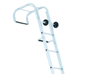 Zarges Industrial Roof Ladder 2-Part 1 x 11 & 1 x 12 Rungs 7.27m