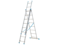 Zarges Combination Ladder 3-Part 3 x 11 Rungs