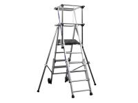 Zarges Sherpascopic Height Adjust Podium Platform Height 1.06 - 1.53m 4 - 6 Rungs