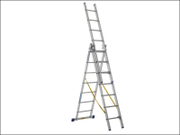 Zarges Skymaster Trade Combination Ladder 3-Part 3 x 7 Rungs