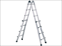 Zarges Trade Telescopic Combination Ladder 4 x 5 Rungs
