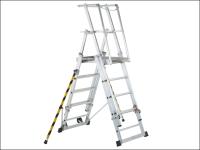 Zarges ZAP 2 Access Platform Platform Height 1.3/1.6/1.8/2.1/2.4m 5-9 Rungs