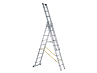 Zarges Skymaster Industrial 3-Part Combination Ladder 3 x 8 Rungs