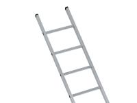 Zarges Industrial Single Aluminium Ladder 4.73m 16 Rungs