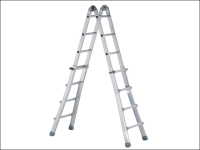 Zarges Industrial Telescopic Combination Ladder 4 x 4 Rungs