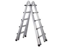 Zarges Trade 4-Part Telescopic Ladder 4 x 4 Rungs