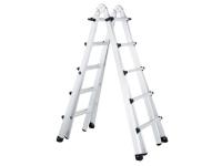 Zarges Trade 4-Part Telescopic Ladder 4 x 5 Rungs