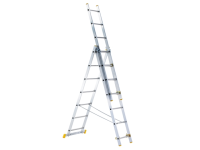 Zarges 3-Part Eurostar Combination Ladder 3 x 9 Rungs