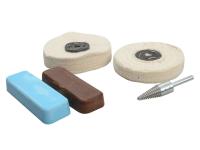 Zenith Profin Polishing Kit - Non Ferrous Metal - Brown & Blue
